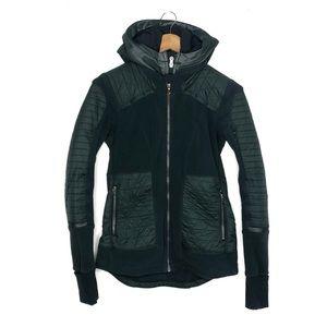 Lululemon Fleecy Keen Jacket II Fuel Green Size 6